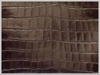 Embossing leather