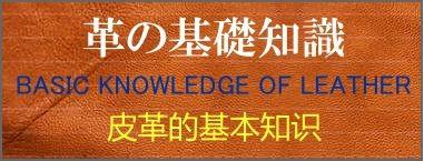 革の基礎知識